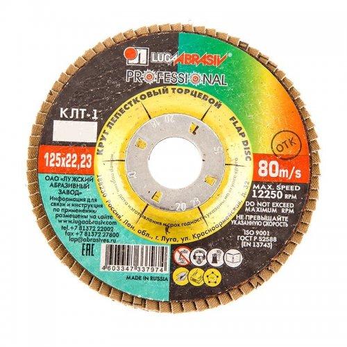 Диск лепестковый по металлу Р40 125х22мм
