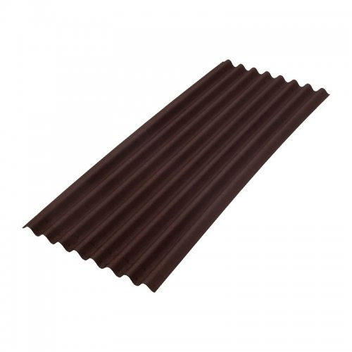 Лист ONDULINE Смарт 950x1950 мм коричневый