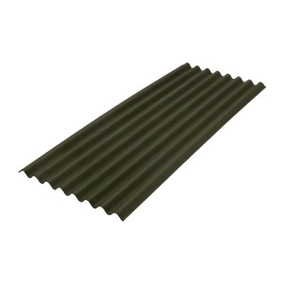 Лист ONDULINE Смарт 950x1950 мм зеленый