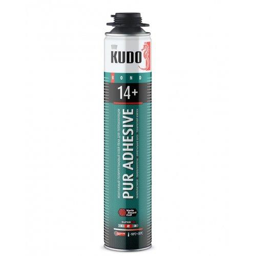 Клей-пена полиуретан. Всесезонный KUDO PROFF 14+