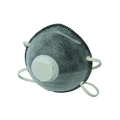 Маска фильтрующая с угольным фильтром и воздушным клапаном