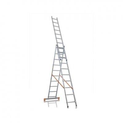 Лестница универсальная 3-х секционная 10 ступеней (3х10)