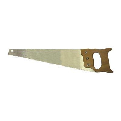 Ножовка по дереву 2D заточка, средний зуб, 500 мм Biber