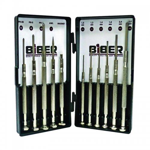 Набор отверток для точных работ (11 шт.) Biber