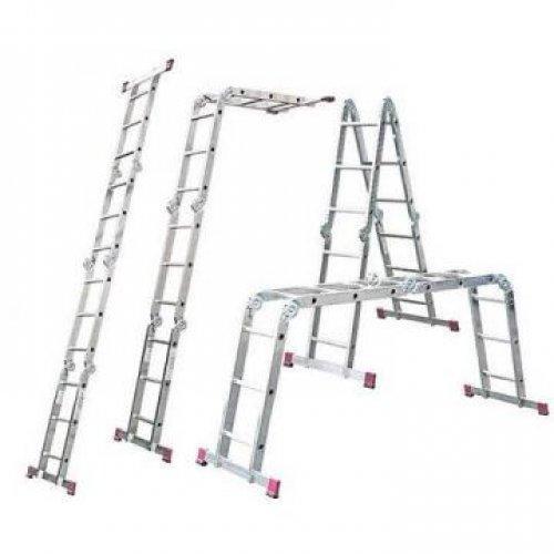 Лестница-трансформер Biber 98301 4-х секционная 3-х ступенчатая