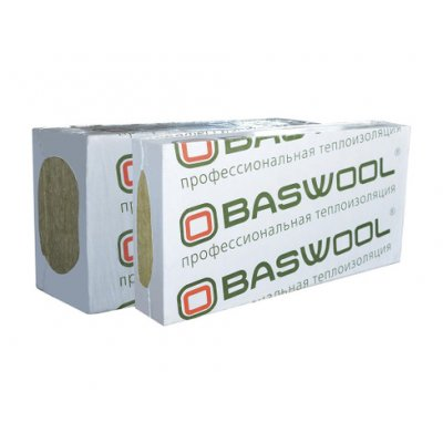 Утеплитель Baswool Фасад 120 (1200х600х50мм, 6 плит, 4.32м2, 0.216м3)