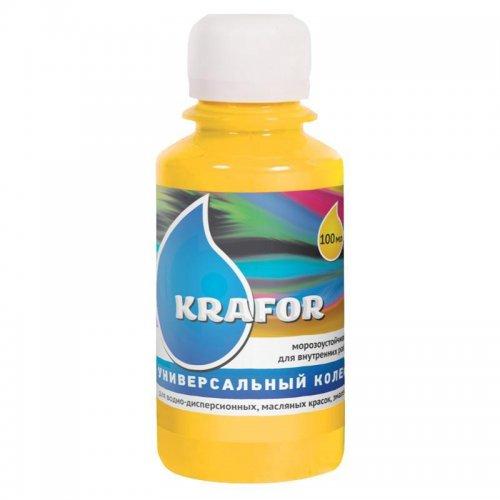 Колер универсальный №2 Желтый 100мл Krafor