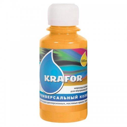 Колер универсальный №3 Желто-коричневый 100мл Krafor