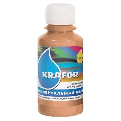 Колер универсальный №4 Бежевый 100мл Krafor