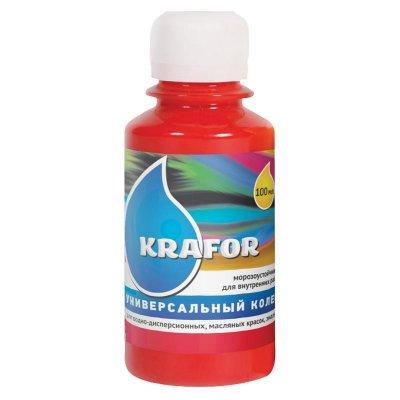Колер универсальный №7 Алый 100мл Krafor
