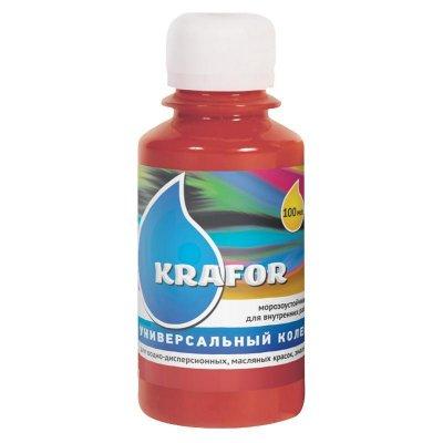 Колер универсальный №8 Красно-коричневый 100мл Krafor