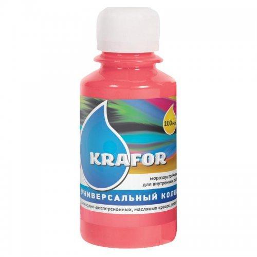 Колер универсальный №9 Розовый 100мл Krafor