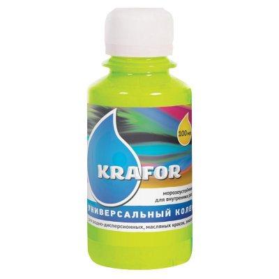 Колер универсальный №12 Салатный 100мл Krafor
