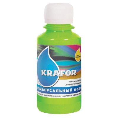 Колер универсальный №25 Зеленое яблоко 100мл Krafor