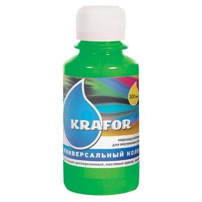 Колер универсальный №24 Зеленый 100мл Krafor