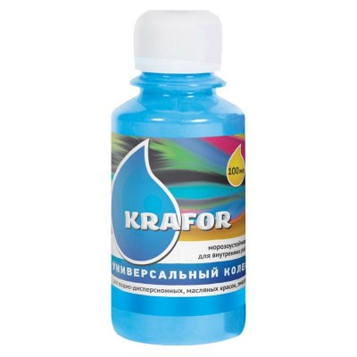 Колер универсальный №17 Голубой 100мл Krafor
