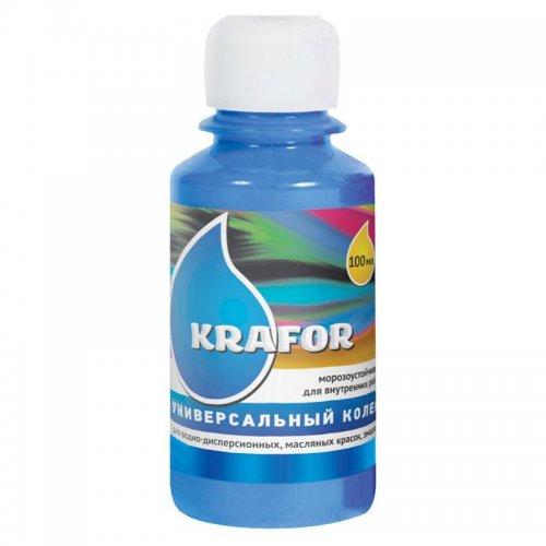 Колер универсальный №18 Синий 100мл Krafor