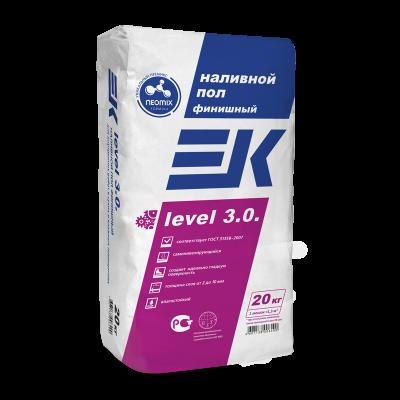 Наливной пол тонкий EK level 3.0 1-10мм (20кг)