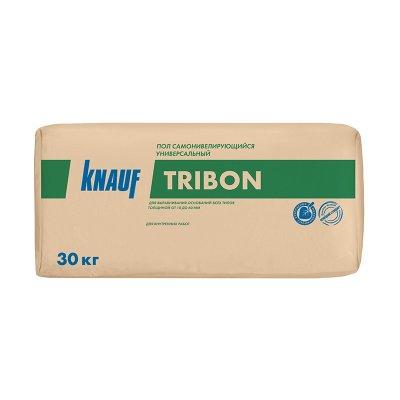 Наливной пол универсальный Knauf Трибон самовыравнивающийся быстротвердеющий 30 кг