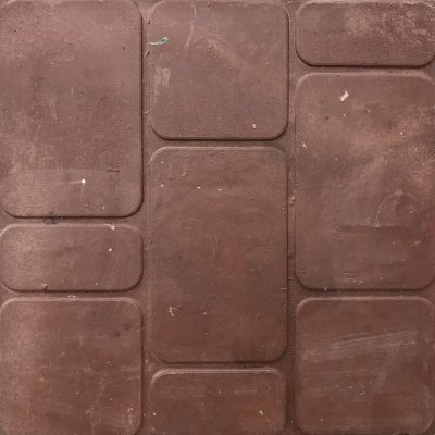 Плитка тротуарная Полимерпесчаная Красная 330х330х30
