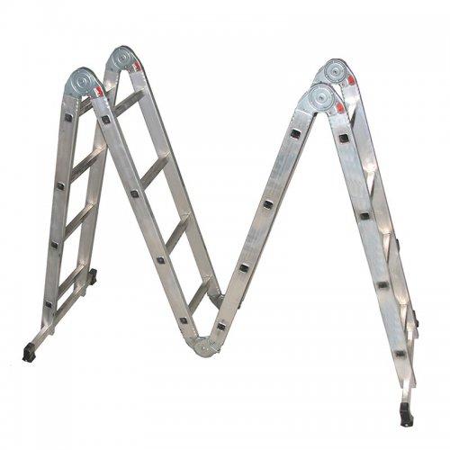 Лестница-трансформер Biber 98302 4-х секционная 4-х ступенчатая