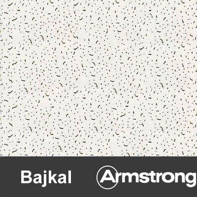 Плита потолочная Байкал 600х600х12мм (уп.20шт=7,2м2) кромка Борд
