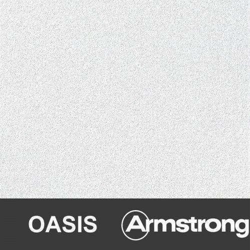 Плита потолочная Оазис 600х600х12мм(уп.20шт=7,2м2) кромка Борд