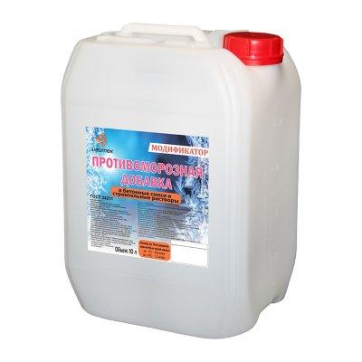 Противоморозная добавка для цементных растворов до -10С (10 л)
