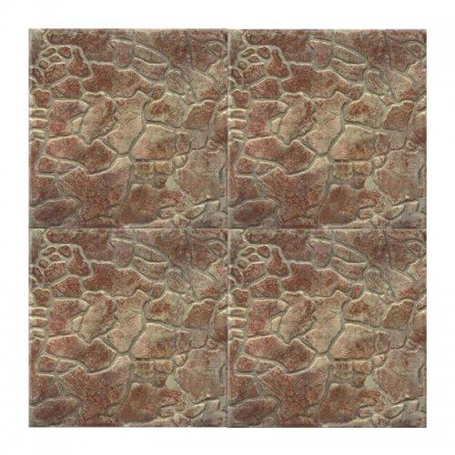 Керамогранит 300х300х8 мм КЕРАМИН Камни 74 коричневый