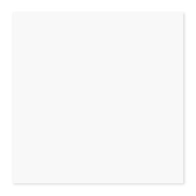 Керамогранит 400х400х8 мм ШП Моноколор матовый глазурованный белый