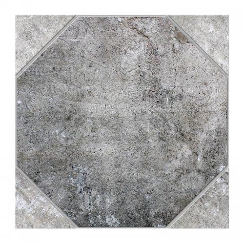 Керамогранит 418х418х8 мм Березакерамика Ливорно GP серый
