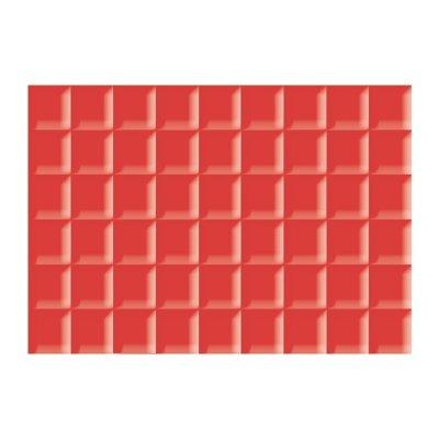 Плитка настенная 280х400х8 мм La Favola Гардения красная низ