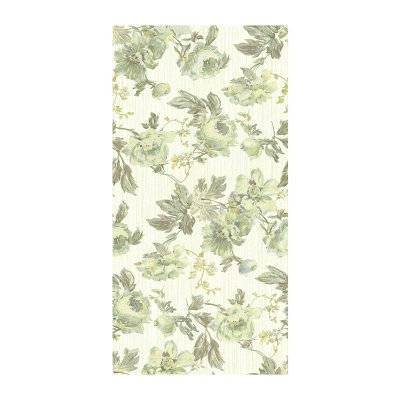 Плитка настенная 250х500х8 мм La Favola Гобелен Цветы оливковая