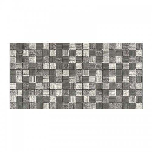 Плитка настенная 250х500х8 мм Axima Мегаполис мозаика темно-серая