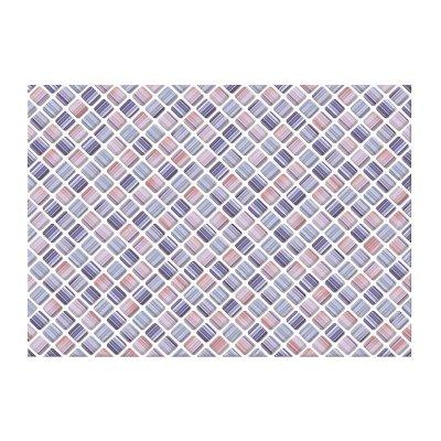 Плитка настенная 250х350х7 мм Axima Сиена синяя низ