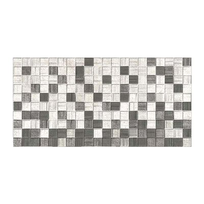 Плитка настенная 250х500х8 мм Axima Мегаполис мозаика серая
