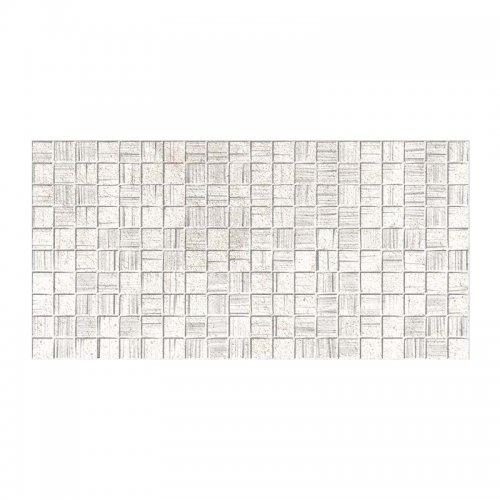 Плитка настенная 250х500х8 мм Axima Мегаполис мозаика светло-серая