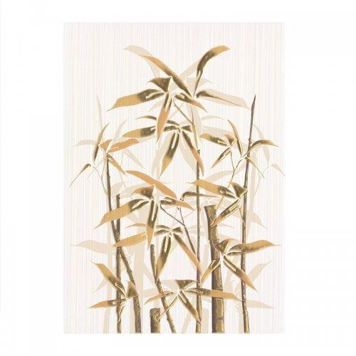 Декор 250х350х8 мм Березакерамика Ретро бамбук 1 коричневый