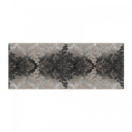 Декор 500х200х8 мм Березакерамика Бристоль черный
