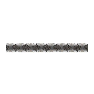 Бордюр 500х54х8 мм Березакерамика Бристоль черный