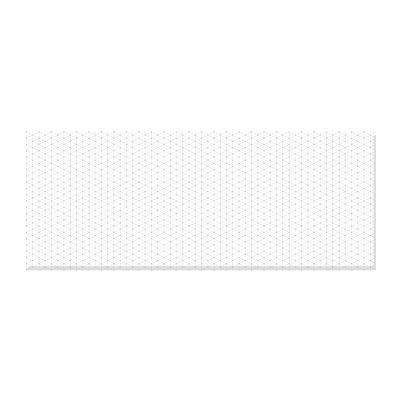 Плитка настенная 500х200х9,5 мм КЕРАМИН Концепт 7С белая