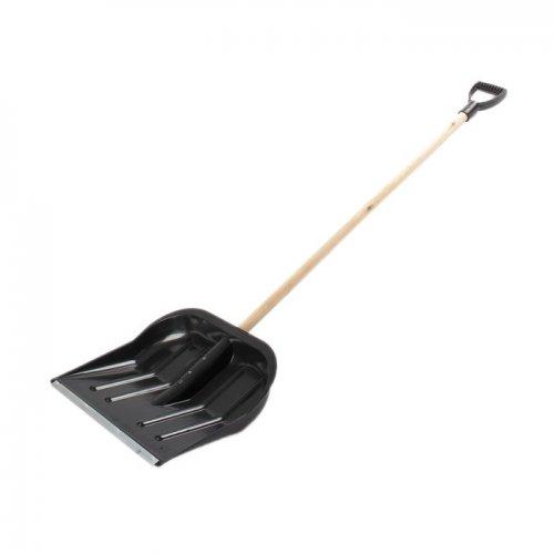 Лопата д/снега пластик (ковш) мет планка d 30-32 ширина 500мм