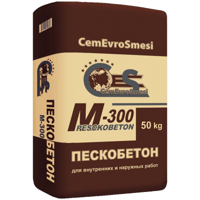 Пескобетон М-300 (50кг)