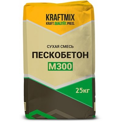 Пескобетон М-300 ГОСТ (25кг)