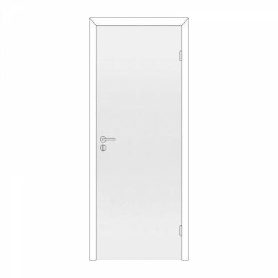 Дверь с притвором