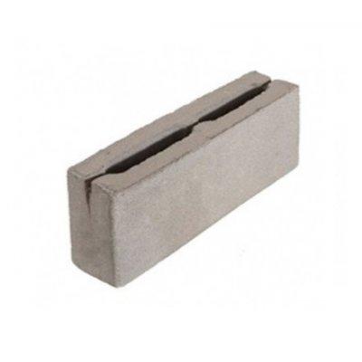 Блок 2-х Пустотный Бетонный Перегородочный 390х120х188