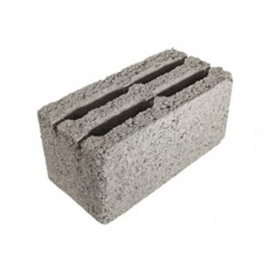 Блок 4-х Пустотный Керамзитобетонный Стеновой 400х200х200