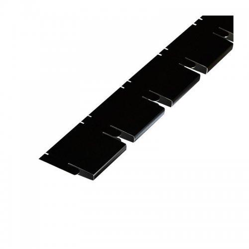 Грильято 50х50мм несущая направляющая L=600мм, h=40мм, черный