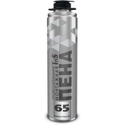 Пена монтажная профессиональная Серебро TRIS 65