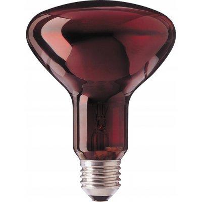 Лампа теплоизлучатель ИКЗК 215-225-250-1(15) Е27 (КРАСНАЯ)